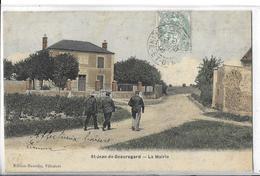 """SAINT JEAN DE BEAUREGARD  La Mairie   """"3 Hommes Couleurs   DEPT 95 - Francia"""