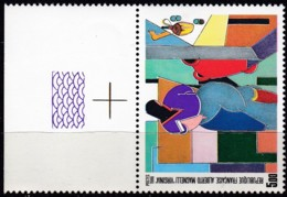 Frankreich, 1986, Mi.Nr. 2553, MNH **, Art : Peintures D'Alberto Magnelli - France