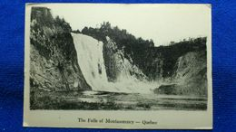 The Falls Of Montmorency Quebec Canada - Montmorency Falls