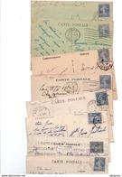 TIMBRE TYPE SEMEUSE CAMEE..40c OUTREMER.....VOIR DETAIL......LOT DE 200 SUR CPA.....VOIR SCAN......LOT 131 - 1906-38 Semeuse Camée
