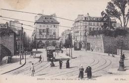 BREST : (29) La Place Des Portes Et La Rue De Siam - Brest