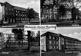DC445 - Magdeburg Krankenhaus Mit Studentenwohnheim - Magdeburg