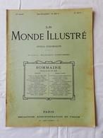 LE MONDE ILLUSTRE - ANNEE 1899 / Exposition Automobiles / Galliéni / Marchand Thoissey / Espion Italien / - Magazines - Before 1900
