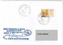 Aéronautique Navale - Toussus Le Noble. Lot De 2 Enveloppes - Postmark Collection (Covers)