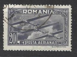 Romania - 1931 - Usato/used - Airmail - Mi N. 423 - Crafts