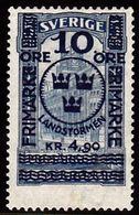1916. Landstorm. 10 Öre+4.90 Kr. On 5 Kr. Blue Stockholm Post Office. Only 24.450 Iss... (Michel 96) - JF100824 - Neufs