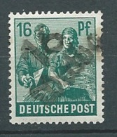 ALLEMAGNE Zone AAS   - Yvert N° 38 Oblitéré - Ay 14802 - American,British And Russian Zone