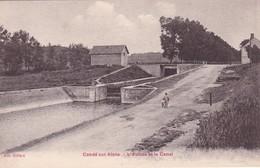 02-CONDE-SUR-AISNE- L'ECLUSE ET LE CANAL-ANIMEE - Andere Gemeenten