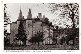 SAINT-BARTHÉLEMY-DE-VALS 26 DRÔME  LE CHÂTEAU DE MARNAS EDIT. CIM - France