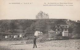 CARTE POSTALE   SAINT JEAN LE THOMAS 50  Le Coteau - France