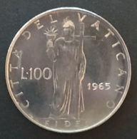 VATICAN - VATICANO - 100 LIRE 1965 - Paul VI - KM 82 - Vatican