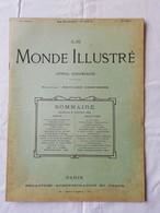 LE MONDE ILLUSTRE - ANNEE 1899 / Fort Chabrol / Peste Oporto / Procès De Rennes / Amiral Dewey - Magazines - Before 1900