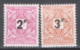 Senegal 1927 Segnatasse Y.T.20/21 */MH VF/F - Postage Due