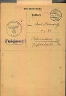 """1943, Aufforderung Zur Musterung """"VELTEN LAND 1.12.43"""" - Covers"""