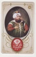 OTTOMAN II SULEYMAN ,SIGNATURE ( TUGRA )PLASTIC CARD - Altri