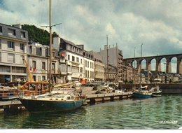 Morlaix Belle Vue Du Port Voiliers - Morlaix