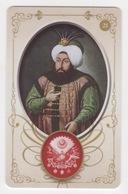 OTTOMAN II AHMED ,SIGNATURE ( TUGRA )PLASTIC CARD - Altri