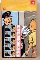 Duostamps Duostamp Bande Dessinée Hergé Tintin Facteur Le Set N'a Jamais été Ouvert - Private Stamps