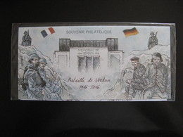 "TB B.F. Souvenir N°126 : "" Bataille De Verdun: 1916-2016 ... "", Sous Blister, Neuf XX. - Blocs Souvenir"