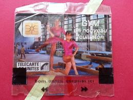 F46B 50u France 3 Gym FR3 Gymnastique Lot 2580 NSB Blister Neuve MINT (BD0220 - 1989