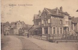 DE PANNE / SLOEPENLAAN /  L HORLOGE  1920 - De Panne