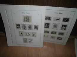 Leuchtturm SF Italien 1966-1982 Komplett Vordruckblätter (1225) - Alben & Binder