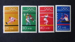 Germany - 1972 - Mi:DE 734-7 Sn:DE B490a-d Yt:DE 586-9**MNH - Look Scan - [7] Federal Republic