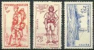Saint Pierre Et Miquelon (1941) N 207 à 209 * (charniere) - Neufs