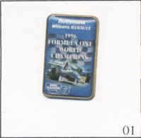 Pin's Formule 1 / Williams Renault - Champion Du Monde 1996 - Sponsor Rothmans. Non Est. T716-01 - F1