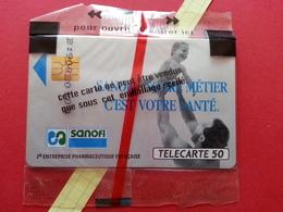 F122A 50u SANOFI Enfant SO2 Lot 4009 NSB Blister Neuve MINT (BD0220 - 1990
