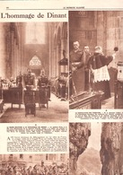 L'Hommage De Dinant à La Brigade Piron-Armée Belge-Cdt G.Houbion-2 Pages-7 Photos-Le Patriote Illustré-1945 - Livres, BD, Revues