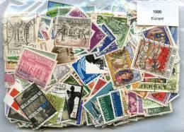 1000 Timbres Thème Europe - Briefmarken