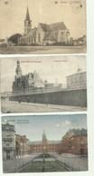 Berchem - Antwerpen   - 3 Oude Postkaarten Berchem   - 1 Verzonden - Antwerpen