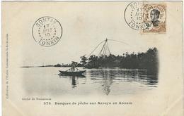VIET-NAM : Annam, Barques De Peche Sur Arroyo - Viêt-Nam