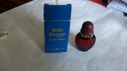 Miniature De Parfum Avon Soie Rouge - Miniatures Modernes (à Partir De 1961)