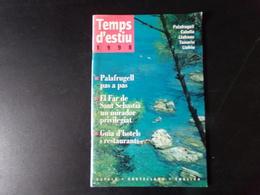 Temps D'estiu, 1998, 63 Pages - Revues & Journaux