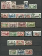 TURQUIE 1914 + SURCHARGE  - 26 Timbres Lot 22 Obliteres Voir DETAIL ANNONCE - Turquie