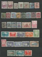 TURQUIE 1917/1918  SURCHARGE  - 34 Timbres Lot 26 Tous Differents  Voir DETAIL ANNONCE - Turquie