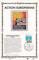 Feuillet Tirage Limité 400 Exemplaires Action Européenne 1885 élections Suffrage Universel Parlement Européen - Feuillets