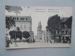 MULHOUSE (68 Hau Rhin ) PLACE DE STRASBOURG  BELLE ANIMATION  MULHAUSEN  STRASSBURGERPLATZ  1919 - Mulhouse