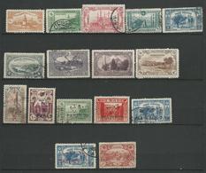 TURQUIE 1920 +  SURCHARGE  -16 Timbres Lot 28 Tous Differents  Voir DETAIL ANNONCE - Turquie