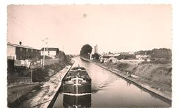 Bobigny - Noisy Le Sec - Canal De L'ourcq Vue Du Pont De La Folie - Peniches - CPA  ° - Bobigny