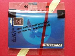 F134Ba 50u Oiseau Bleu SC5an T7 Lot Impact 22560 NSB Blister Neuve MINT (BD0220 - 1990