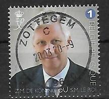 2020 King Roi Koning Filip Philippe Centrale Stempel !!! - Belgique
