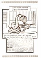 """PUB """"DENTOL """"  FABLES DE LA FONTAINE Par BENJAMIN RABIER  1924 ( 6 ) - Publicités"""