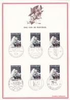 Feuillet 1622 Dag Van De Postzegel Lune Astronaute David R. Scott - Feuillets