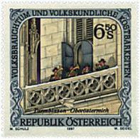 Ref. 50199 * NEW *  - AUSTRIA . 1997. ETHNOLOGY AND FOLKLORE. ETNOLOGIA Y FOLCLORE - 1945-.... 2a Repubblica