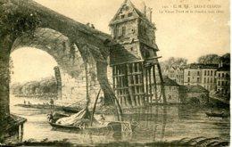 CPA - SAINT-CLOUD -LE VIEUX PONT ET LE MOULIN VERS 1800 - Saint Cloud