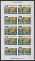 Sierra Leone 2019 Mi. IMPERF Mini-sheet Kleinbogen Joint Issue 20e Anniversaire EMS 20 Years Emission Commune E.M.S. UPU - Sierra Leone (1961-...)