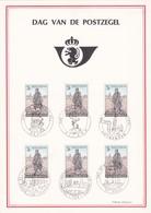 Feuillet 1445 Dag Van De Postzegel Facteur Aux Armées - Feuillets